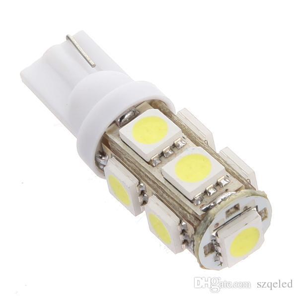 T10 9 SMD Car Light 5050 Wedge Side Marker Corner Led Bulbs W5W Car light