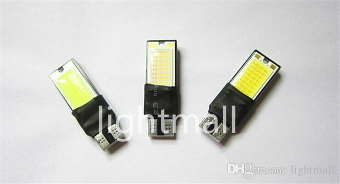 T10 LED 194 168 W5W COB Interior Bulb Light Parking Backup Brake Lamps Canbus No Error Cars xenon Auto Led Car