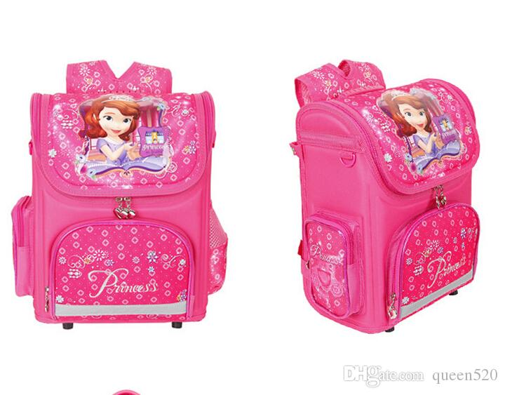 Awesome Hot Sell Orthopedic Children School Bags For Girls New 2016 Kids Backpack Monster High Winx Book Bag 3 Princess Sofia The First Schoolbag Small Creativecarmelina Interior Chair Design Creativecarmelinacom