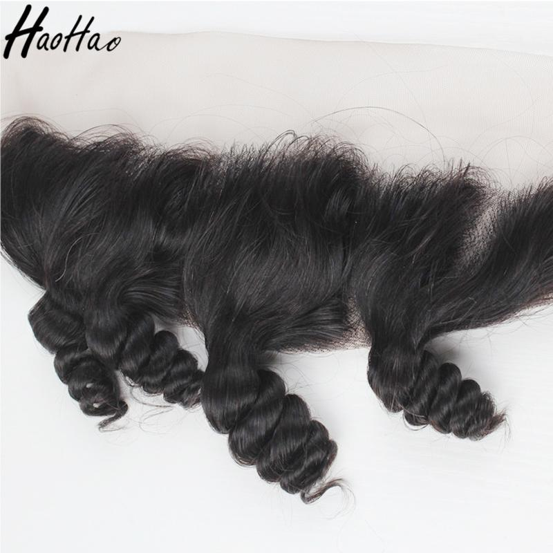 Raw Remy Human Hair Pre-plucked Natural Hairline Lace Frontal With Baby Hair Brazilian Peruvian Indian Mongolian Hair