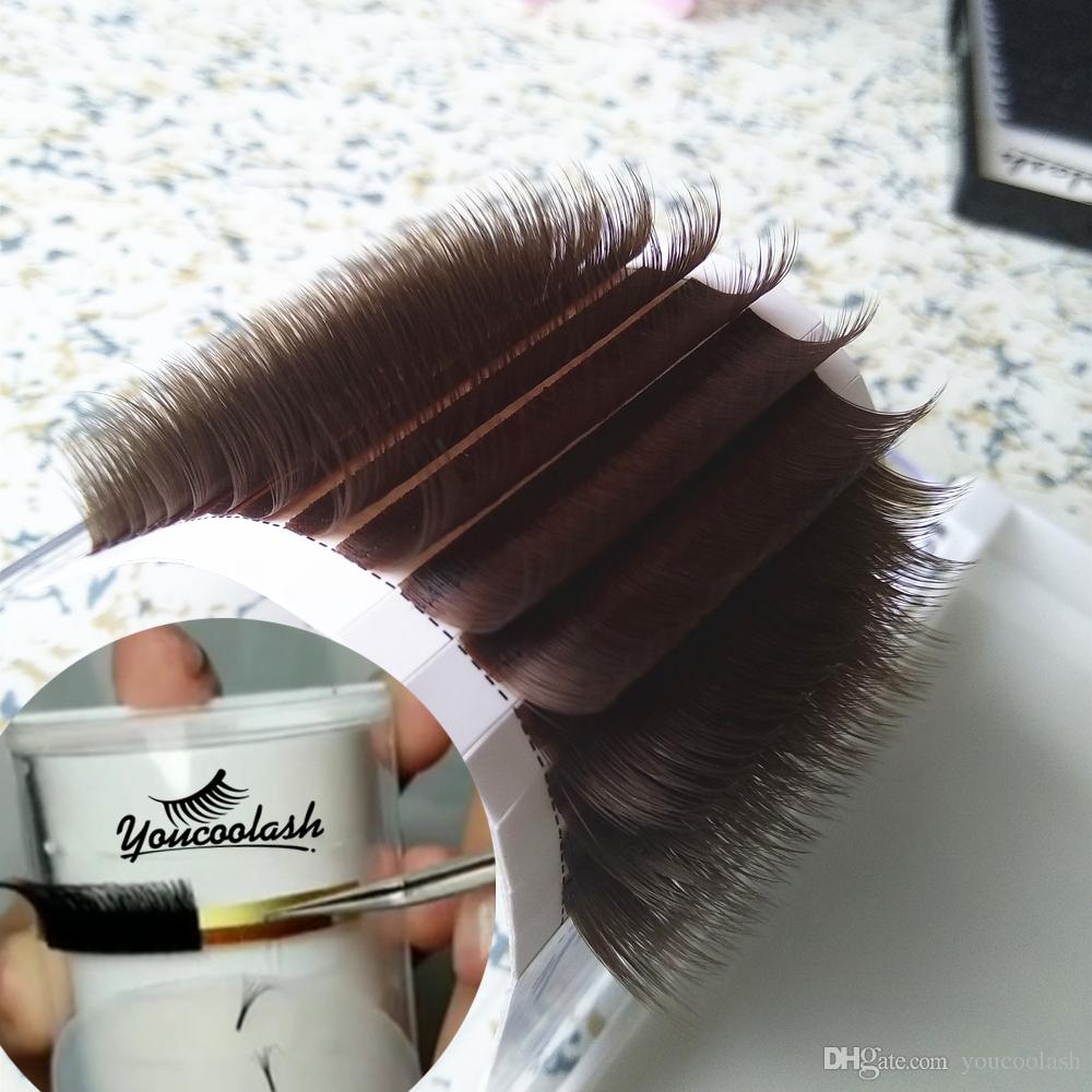 6b6e3783bcd Caramel Color Russian Volume Lash Camellia Lashes Pandora Eyelashes  Youcoolash 3D 6D 0.07 Mixed Length In One Lash Strip New Store 50%+ Off How  To Clean ...