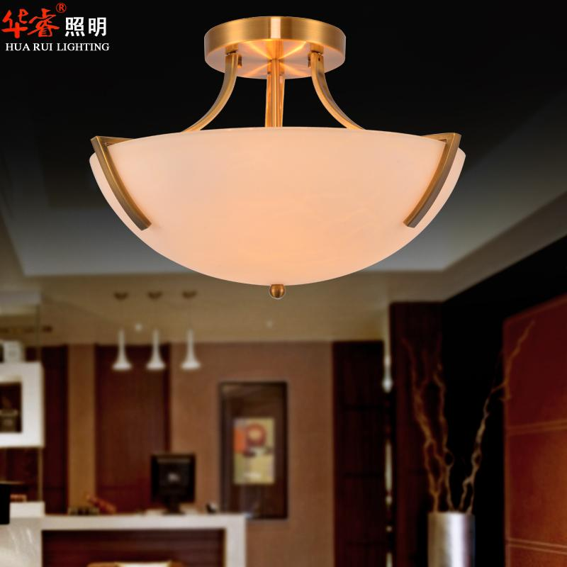 Modern Brass Bedroom Light Fixtures Led Surface Mounted Lamps