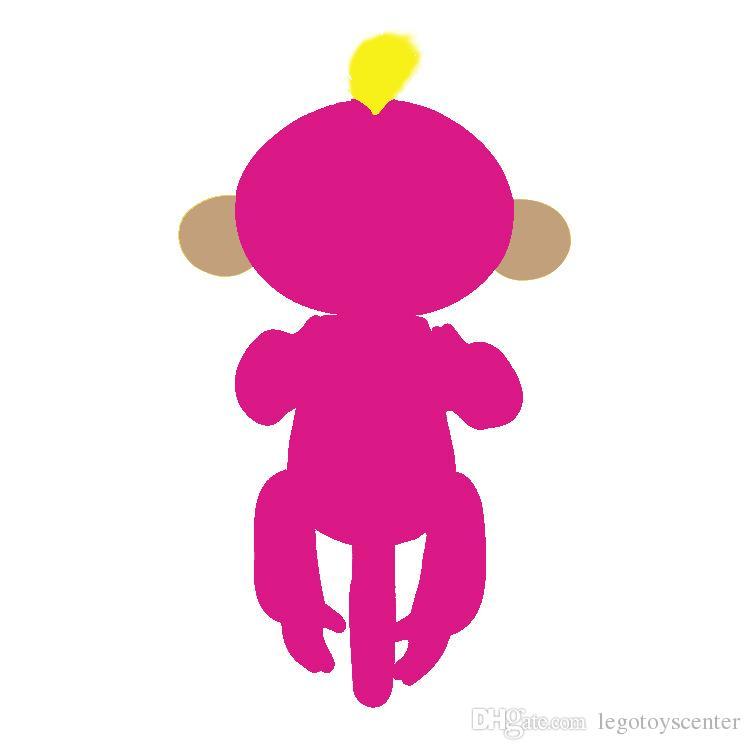 Großhandel 6 Farbe Finger Interaktive Baby Affe Smart Bunte Mini ...