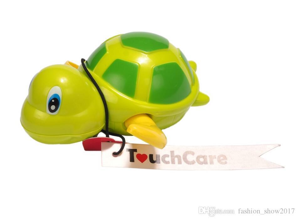 الوليد الكرتون الحيوان السلحفاة لعبة اطفال الرضع حمام السباحة السلحفاة سلسلة البرتقالة اللعب الكلاسيكية طفل ألعاب تعليمية