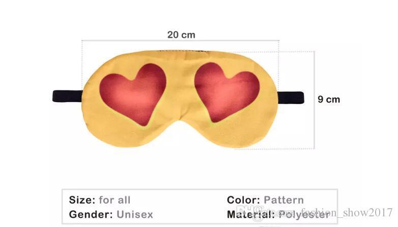 3D 프린팅 이모티콘 긴 여행이 EyeShade은 아이가 커버 걸 안대 눈 가리개 고글 의료 마스크 잠자는 숲속의 휴식 속눈썹