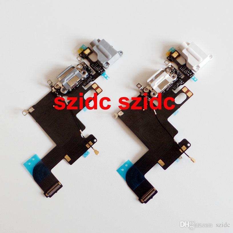 / серия OEM Новое зарядное устройство для зарядки порт Dock Mic наушников Jack Flex кабель для iPhone 6 4.7