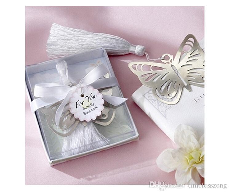 Gümüş Paslanmaz Çelik Imi Boş çapraz Yer Imleri 100 Takım Düğün Iyilik Yeni moda güzel düğün hediyeleri Düğün Iyilik