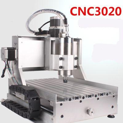 Alta presione 3020 CH60 800 w metallo morbido plastica lavorazione del legno cnc mini macchina incidere
