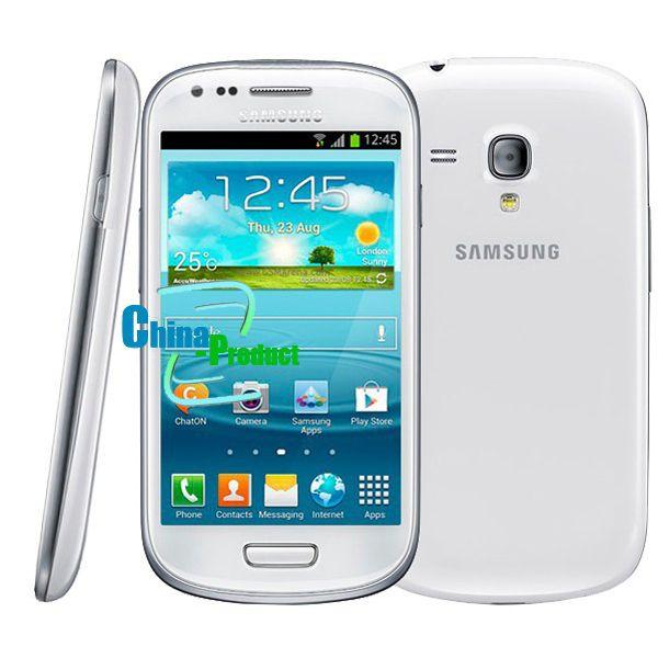 Oridinal 4.0'' Samsung Galaxy S3 mini i8190 Refurbished 480 x 800 GSM 3G Dual-core mobile phone WIFI GPS 8GB Smartphone 002868