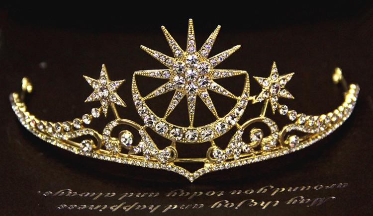 تيجان ملكية  امبراطورية فاخرة Bridal-tiara-beauty-queen-crown-baroque-moon
