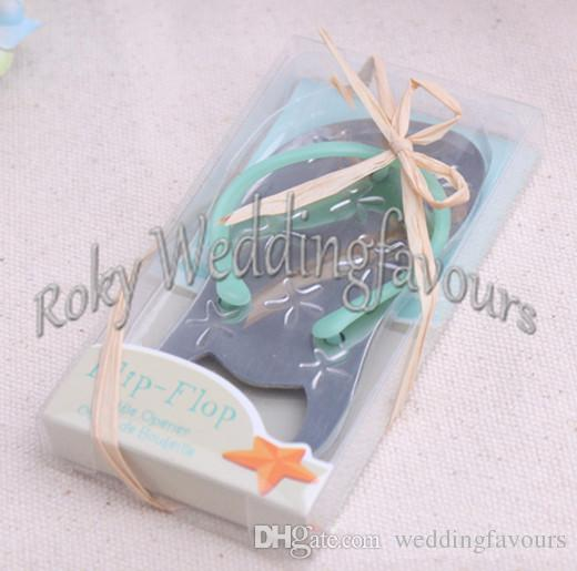 DHL !! Flip Flop Bottle Opener Wedding Favors,Beach Theme Bridal Shower Party Event Favors/wedding flip flops