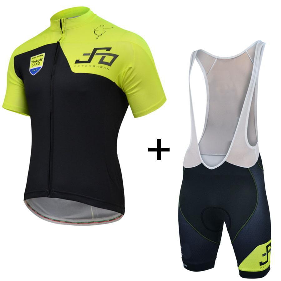 208124356 2015 TINKOFF SAXO BANK PRO TEAM PETER SAGAN SHORT SLEEVE CYCLING JERSEY  SUMMER CYCLING WEAR ROPA CICLISMO+BIB SHORTS GEL PAD SET SIZE XS 4XL Womens  Cycling ...