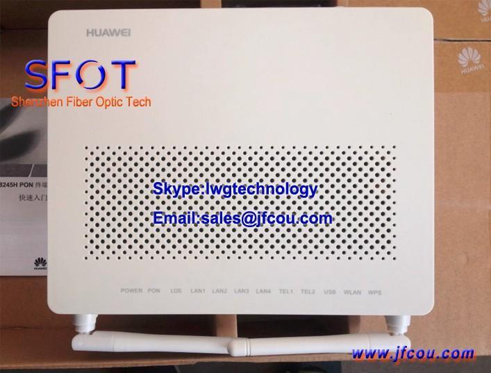 Original Huawei HG8245H GPON ONU ,4GE+2Pots+Wifi ONU ONT