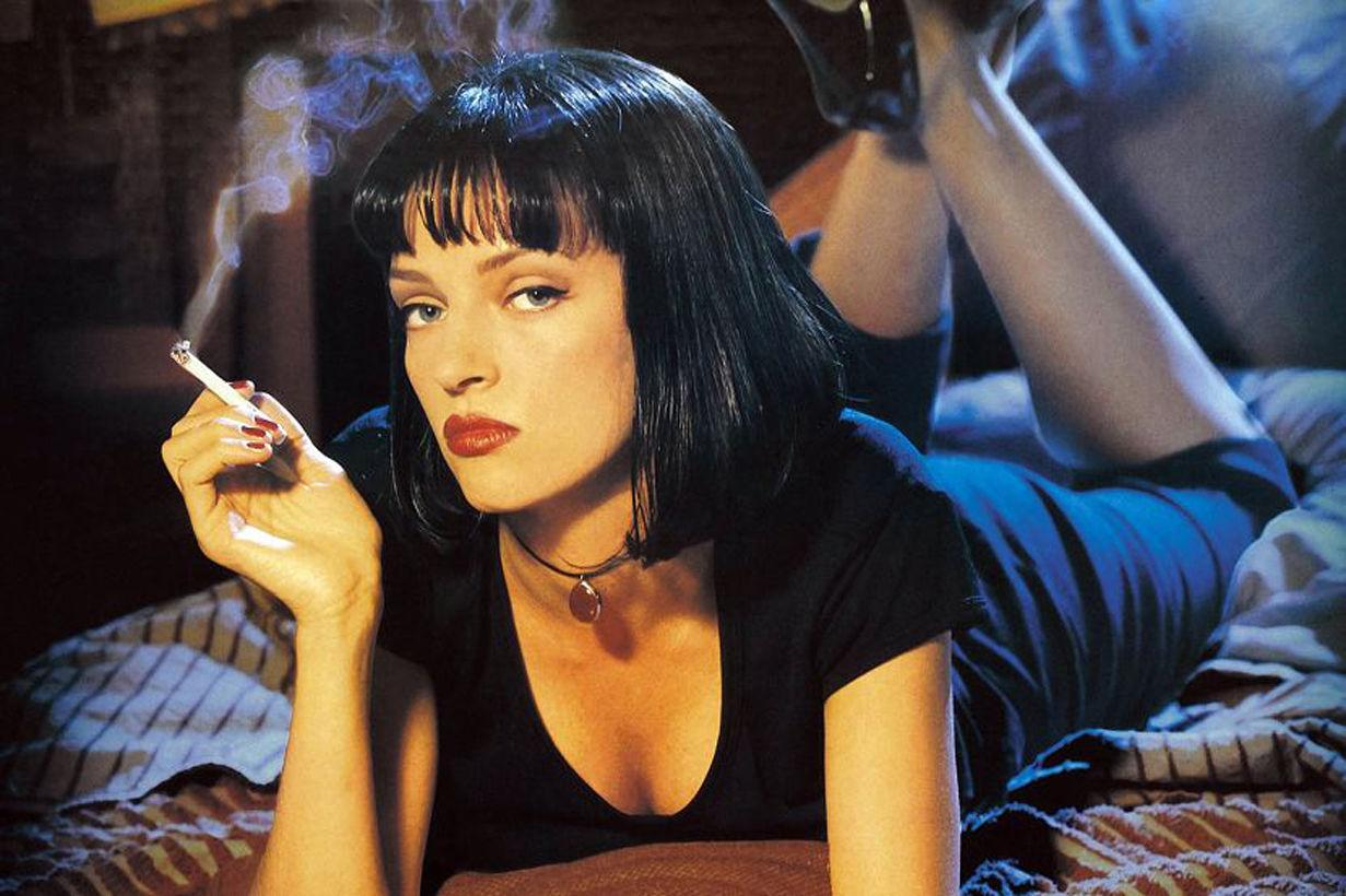 Image result for pulp fiction uma thurman