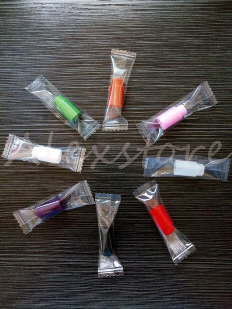 Силиконовый мундштук крышка резиновый наконечник для капель кремния одноразовые красочные тестовые подсказки крышка индивидуально пакет для 510 резьба распылитель бак vape
