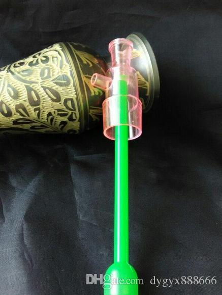Wholesale 2015 new Colored acrylic inserts, homemade glass Hookah / glass bong accessories, cargo high 17cm, diameter 2.5c