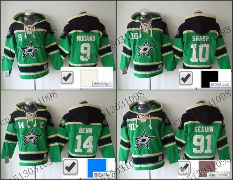 promo code 1de9d 59ddf mens dallas stars 91 tyler seguin old time hockey home green ...