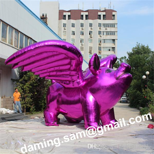 giant pink inflatable pig for christmas decoration sam yu 2777 inflatable pig inflatable cartoon giant inflatable pig online with 77813piece on