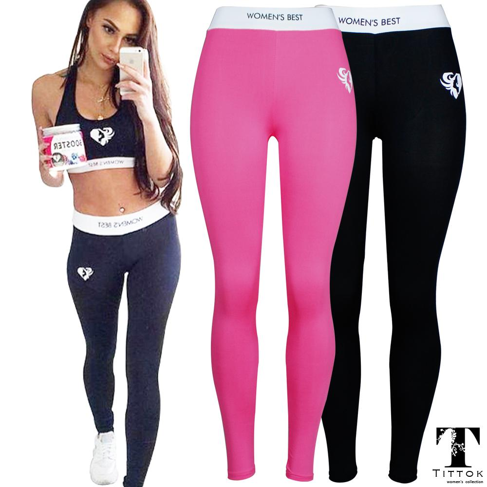 5497b1eaa1d731 2017 Sex Mesh WOMEN'S BEST Fitness High Waist Elastic Women push up Legging  Workout Leggings Pants Pink Black leggings