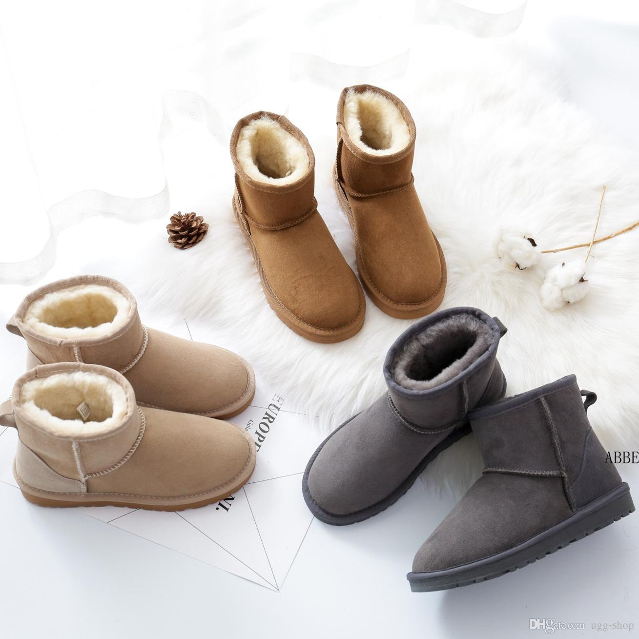 bee4f0725f05 Women Winter Snow Boots Brand Boots Fashion Women Winter Shoes Cheap ...