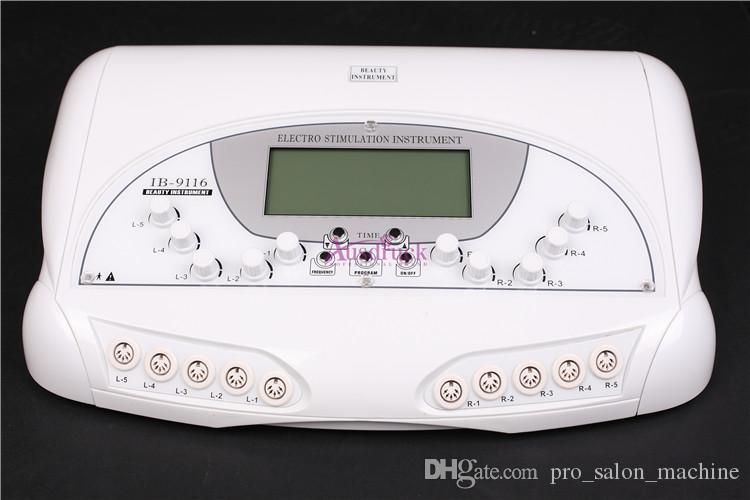 Ny MicroCurrent Body Drawen Lift Tone Fitness Slim Electro Stimulation Spa Machine
