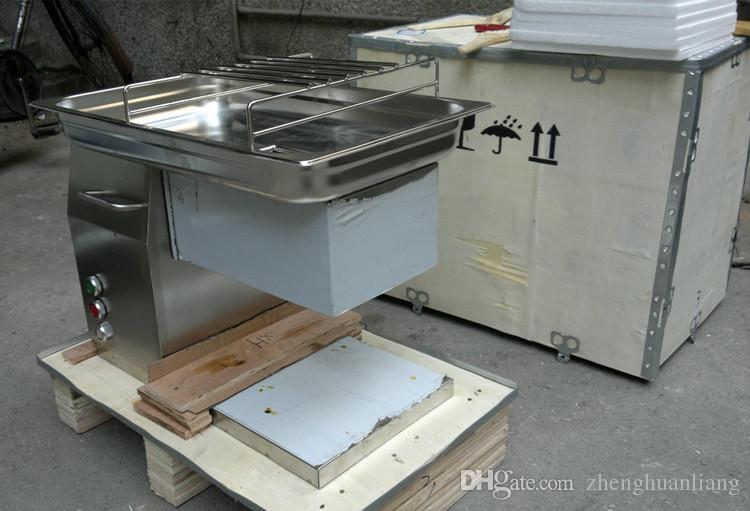 Livraison gratuite automatique trancheur de viande QH, restaurant viande cutter, 500KG / HR, fournir 220V et 110V machine de découpe de la viande, grand tonnage