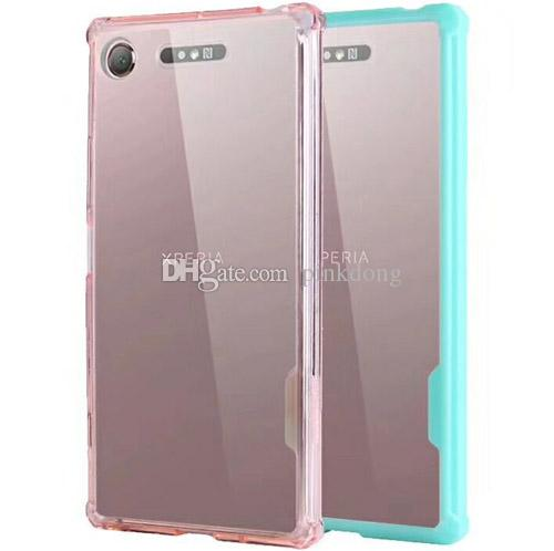 hybrid Anti-Shock Combo Heavy Duty Rubber rugged case cover skin shell for Sony Xperia XZ1 case
