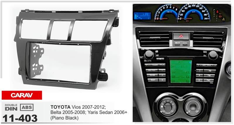 Carav 11 403 Top Quality Radio Fascia For Toyota Viosbeltayaris Rhdhgate: 2007 Toyota Yaris Dash Radio At Gmaili.net