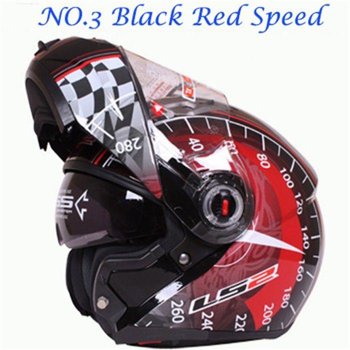 100% подлинная новый шлем LS2 Ff370 мотокросс шлем мотоцикл LS2 шлем двойной объектив Ff370 последняя версия есть сумка H2876