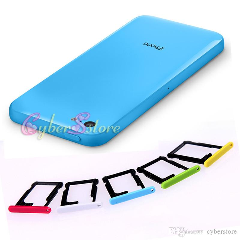 iphone 5c sim card slot for iphone 5c colorful sim card slot tray holder 17438