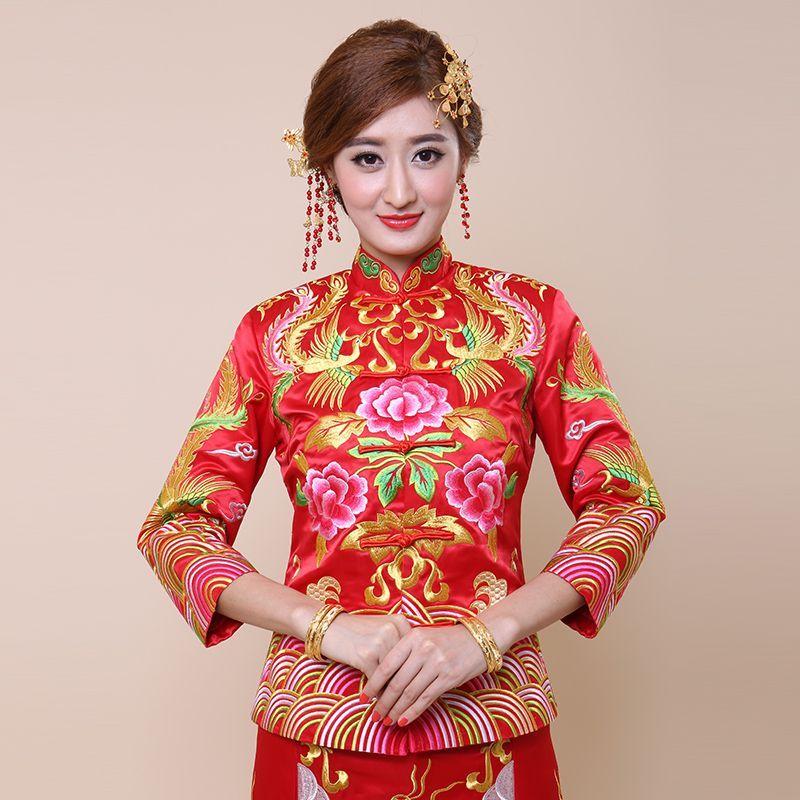 Kimono Wedding Gown: The New Xiu Xiu Kimono Dress Gown Skirt Cheongsam Chinese