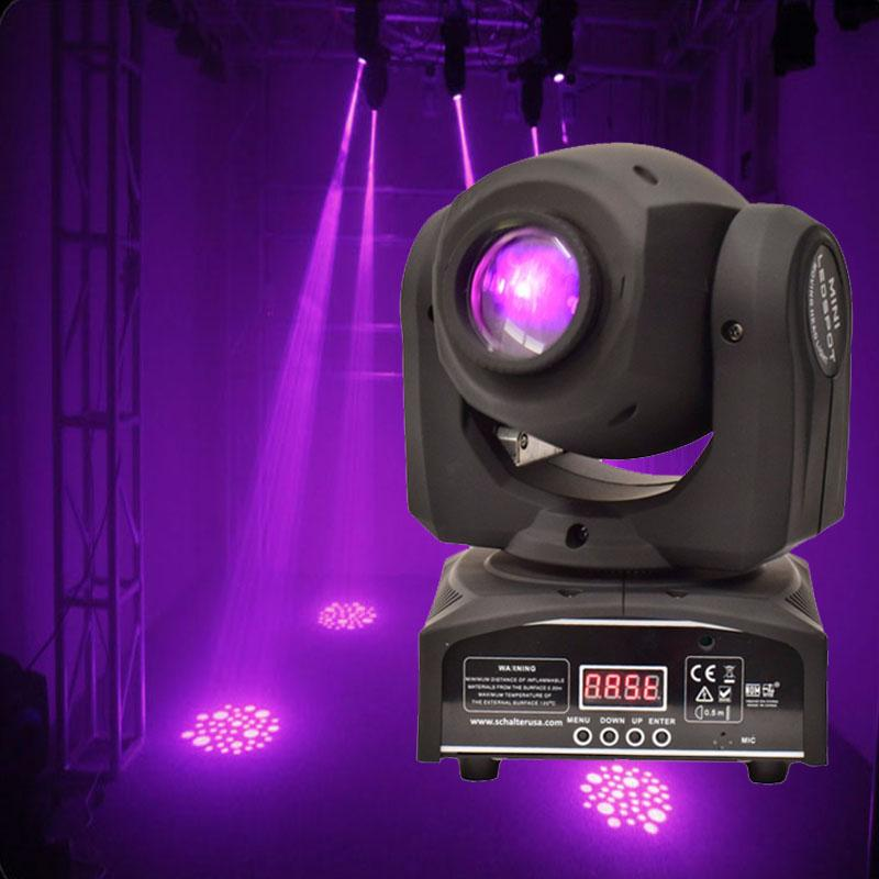Wholesale 30W Gobo Spot Moving Head Light LED Stage Lighting Disco Professional DJ DMX Effect
