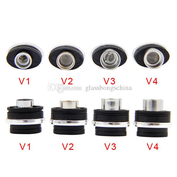 Mixed Type Herbal Wax Atomizer Coils G Pro Micro Dry Herb Vaporizer Replacement Coil Units Flat Elips Pen Style E Cigarette DHL Free