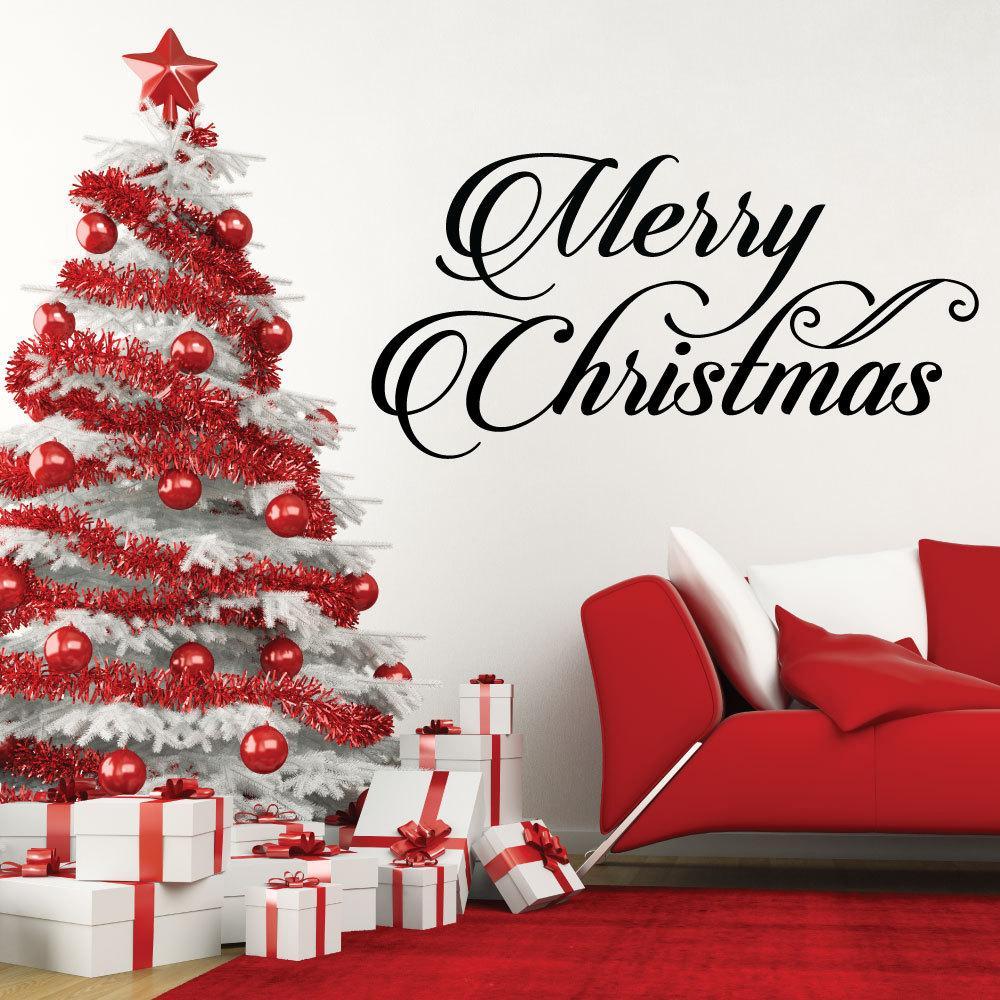 Parole Di Buon Natale.Felice Buon Natale Cita Stagione Delle Vacanze Finestra Di Casa Adesivo Da Parete Parole Di Fai Da Te Decorazioni Per La Casa Di Natale Murale Art