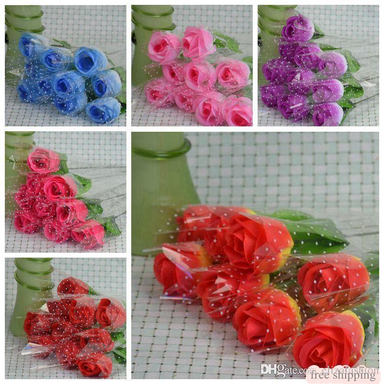 Artificial rose flower fake flowers home decor bouquets for wedding artificial rose flower fake flowers home decor bouquets for wedding party decorativeflowers gifts valentines day rose hot selling valentines rose mightylinksfo Gallery