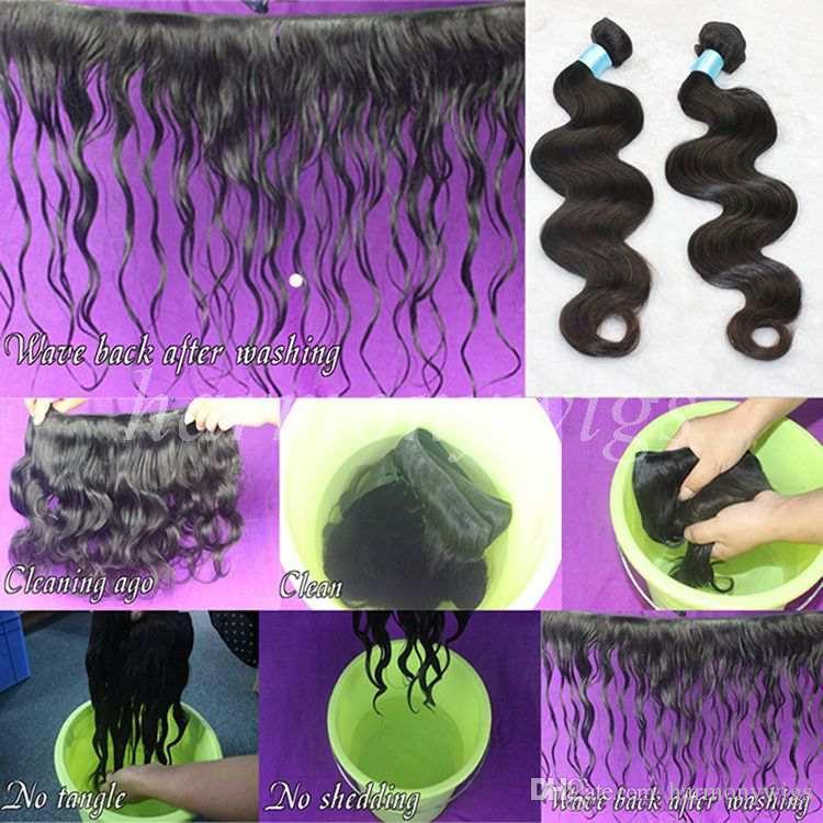 Brazilian Hair Weave bundles Body Wave Peruvian Malaysian Indian Cambodian Unprocessed Virgin Human Hair Weaves weft Extensions