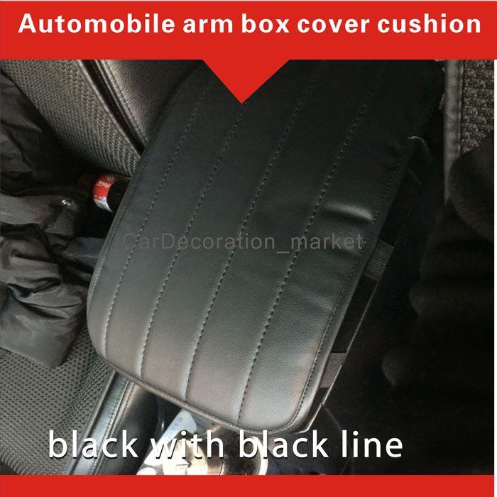 Innenausstattung Dekoration Armlehne Abdeckung Kissen Land Rover Range Rover Sport Fahrzeug-Mitte Konsole Box Cover Pad unter den vorderen Autositzen