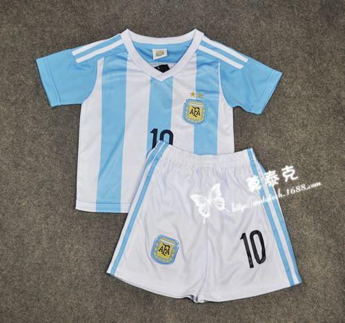 2018 Best Quality 2015 Argentina Messi Soccer Jersoccer Jerseys