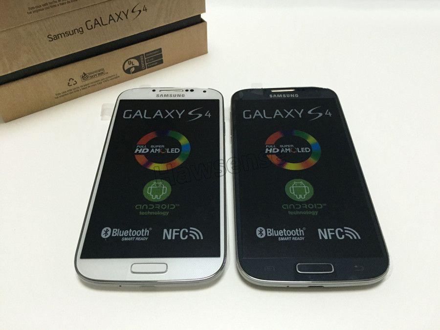 Refurbished Original Samsung Galaxy S4 I9500 I9505 5 0 Inch Quad Core 2GB  RAM 16GB ROM 13MP 3G 4G LTE Unlocked Android Smart Phone DHL Mobiles Phone