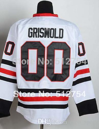super popular dd9e9 32315 30 Teams-Wholesale #00 Clark Griswold Jersey,Ice Hockey Jersey,Best  quality,Embroidery logos,Authentic Jersey,Size M--XXXL,Accept Mix Order