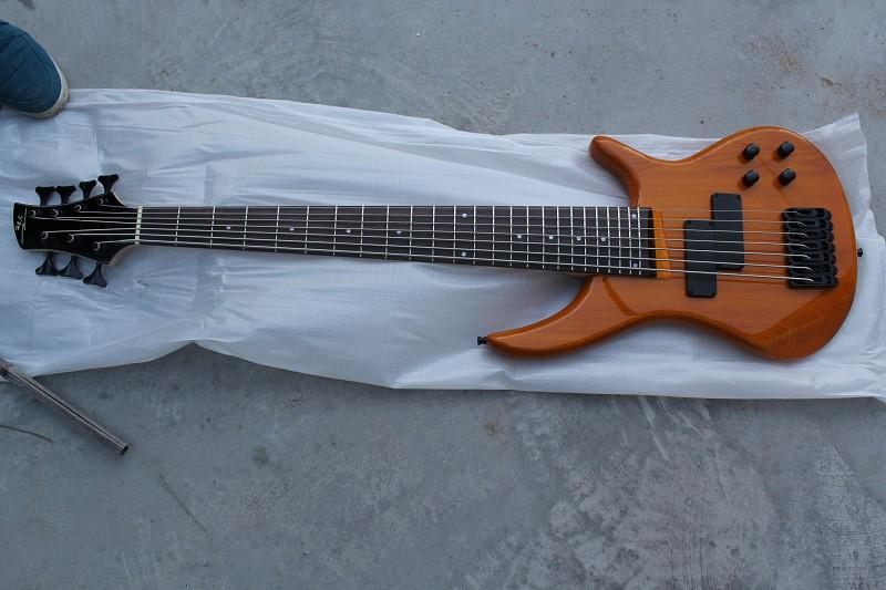 wholesale new custom 7 string bass rare electric bass guitar oem available tuning bass guitar. Black Bedroom Furniture Sets. Home Design Ideas