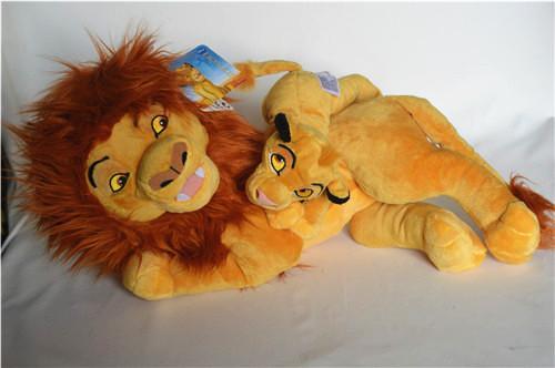 The Lion King Simba Plush Toy Dult Simba And Young Simba Stuffed