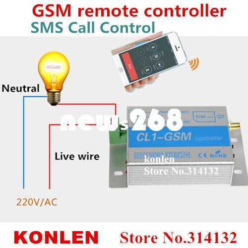2018 Home Domotica Gsm Controller Relay Switch Sms Call Remote