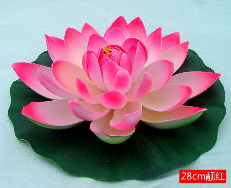 Ultra low cost simulation fake flower lotus flower lotus flowers and ultra low cost simulation fake flower lotus flower lotus flowers and decorative plastic water features stage performances props music novelty items musical mightylinksfo