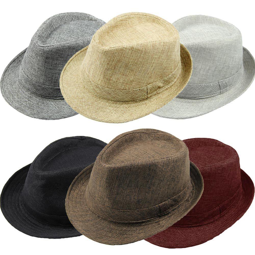 2019 2015 Fashion Men Women Casual Fedora Hat Pinched Crown Beach Sun Cap  Panama Hat Unisex Top Quality Chapeu Feminino GA0051 From Cntomtop 49221925b73