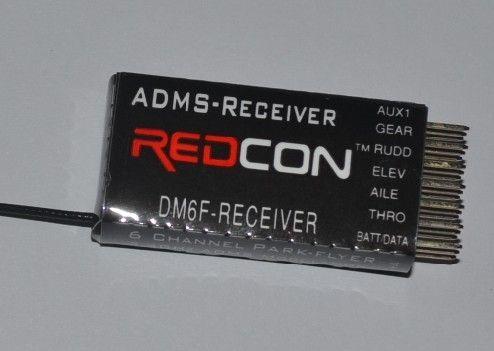 DM6F Receiver Applicable JR Remote Control JR XG7 XG8 XG11 XG14 DMSS 6  Channel Receiver DHL Free Shipping