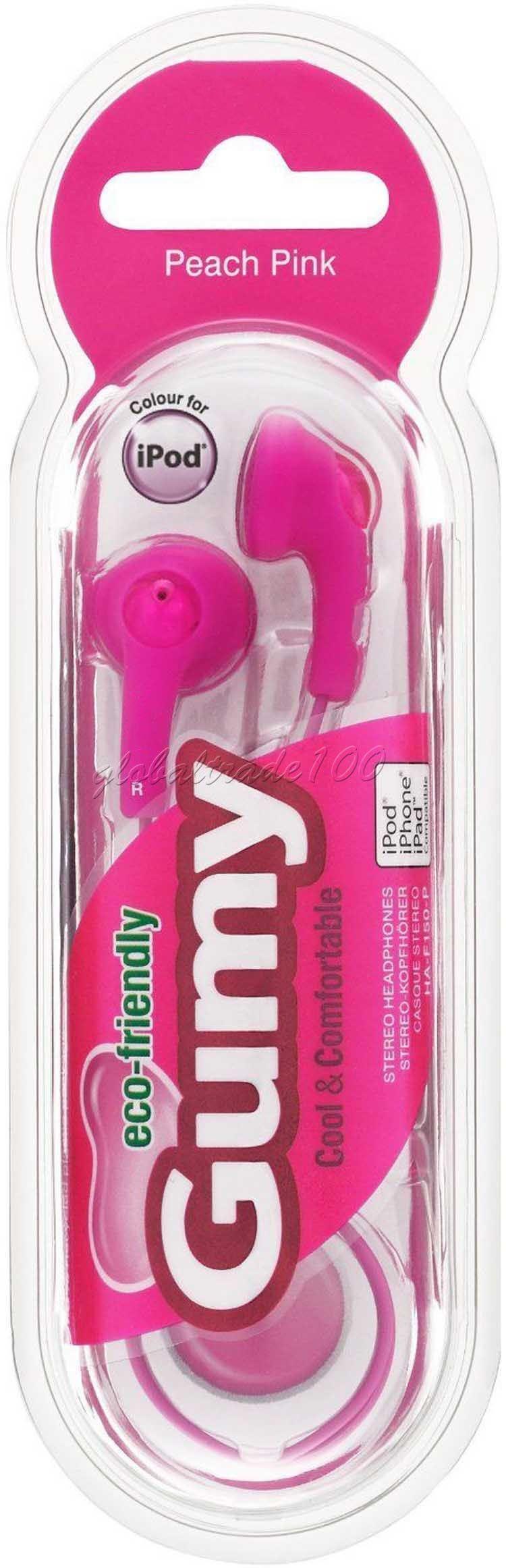 Gumy gummy kopfhörer ha f150 3,5 mm mp3 kopfhörer kopfhörer kein mic bunt für iphone ipad ipod samsung htc