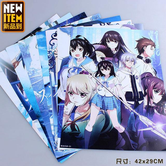 Anime Characters For Sale : Strike the blood characters posters anime sex girl