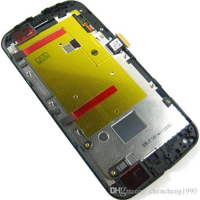 A + + + 5 teile / los Neue Qualität LCD Display Mit Touchscreen Digitizer + Rahmen Ersatz Für Moto Motorola G G2 G3 XT1032 XT1063 XT1054