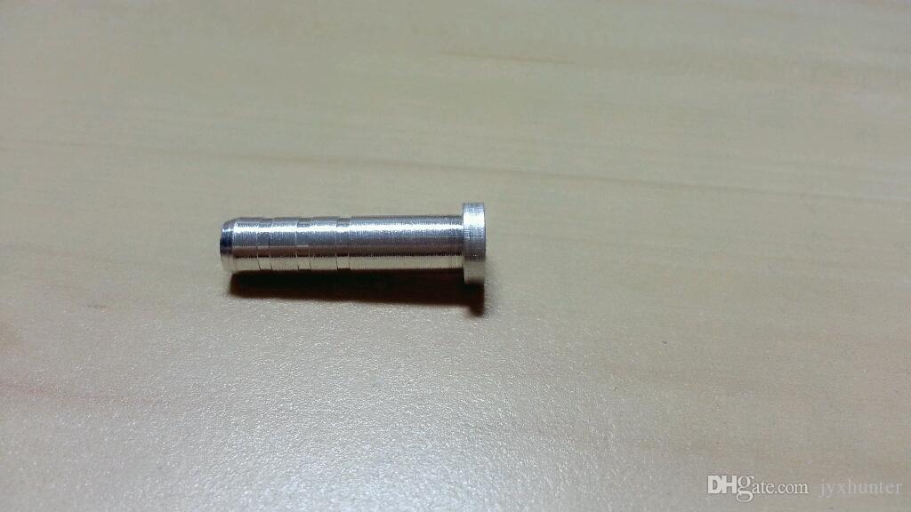 Hunting Arrow Points Field Point 100 Grain + Aluminium Pijl Inzetstuk voor ID 6.0 MM Pijlas